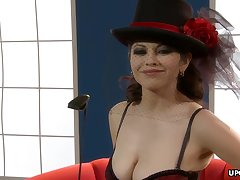 Gorgeous mistress, Evie Delatosso looks hot with the addition of