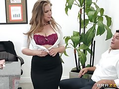 Lena Paul adores when their way boyfriend cum in their way mouth after a blowjob