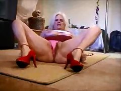 Sexy Feet Red Heels Porn Star Zoe Zane Stand CamZ Video #89