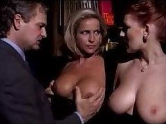 Milf Buckle Sharing Bosomy Redhead Lady