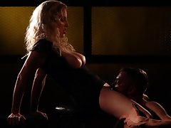 Sultry Georgie Lyall wants to fuck with a unfamiliar in the matter of the dark room