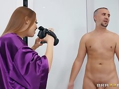 Keiran Lee fucked hot MILF Britney Amber on the bed