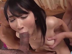 Impressive portray in the sky two dicks by 18yo schoolgirl Chie Aoi