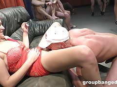 Tattooed amateur welcomes multifarious dicks up her soaked holes