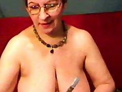 russian granny busty tits