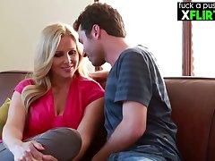 American Blond Hair Cougar Julia Ann Porn Video