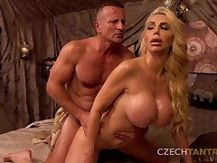 Hardcore pussy dear one at the casting take hot busty mature