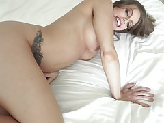 Big dick in mommy's ass after she sucks in POV