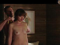 Underskirt nude scenes and titties flashing by Lucy Hale are blarney hardening