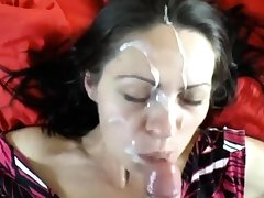 milf take a renowned facial