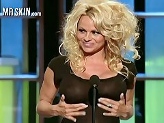Naked sex bomb Pamela Anderson compilation peel