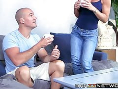 Nina Dolci fucks her husbands best friend to even the score