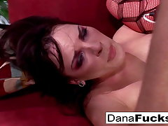 Dana gets her asshole fucked deep added to shares his cum