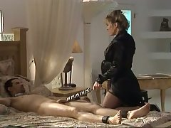 This babe in arms loves being a deviant mistress and she loves anent punish her clientele