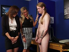 Dude with a long hair gets a blowjob by Charlie Holays and Lissa Love