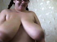 Monster tits milking