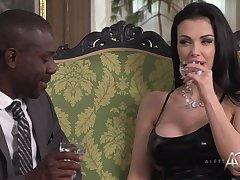 Exclusive Slattern Aletta Ocean Takes Black Collide with