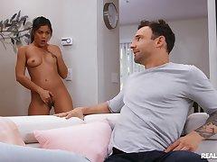 Depressed hottie Kendra Spade screws her roommate's boyfriend