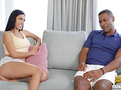 Poikilothermal anal for a thick Latina mama