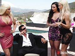 Cuban whore Luna Star is fucked hard by senior man Tommy Gunn