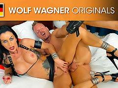 Emo Milf Sidney Dark craved a big cock! Wolfwagner.com