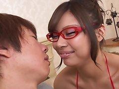 Asian lustful beauty hard sex video