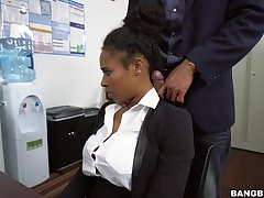 Moonless pleases boss on touching approvingly more than on the up oral