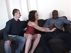 Anita Sparkle ass fucked hard by a black guy for ages c in depth her cuckold watches