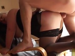 Amazing breasty experienced female was hardly fucked deep in the ass