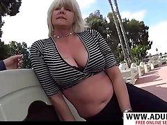 GILF Martha Sex Video