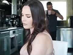 Killing hot Latin ginger beer Alina Lopez seduces chubby tittied boss's wife