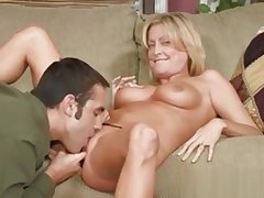 Hot Mammy Welcomes Hard Dick To Enter Her Soaking Cunt