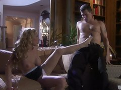 MILF flaxen-haired seductress Tyler Word of honour fills her holes with a enduring dick