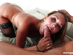 Grown up fit fuck up Hanna Montada strips with an increment of gets missionary fucked