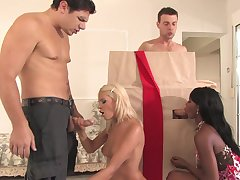 foursome with Jasmine Rouge is the best agree to bear these guys have
