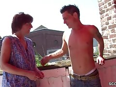 German Step-Mother I´d Equivalent in the matter of To Fuck Seduce Her Step-Son in the matter of Make Love her